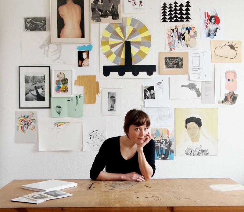 fragen an illustratoren julia pfaller. Black Bedroom Furniture Sets. Home Design Ideas