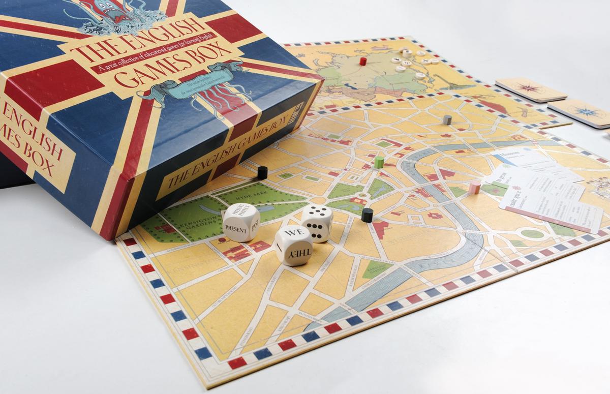 the english games box eine lernspielsammlung f r den englischunterricht. Black Bedroom Furniture Sets. Home Design Ideas