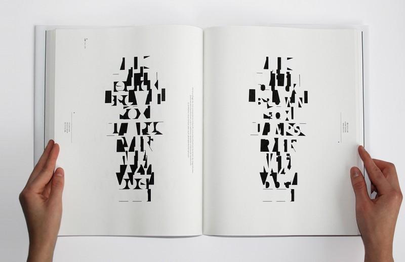 grafik der typografie