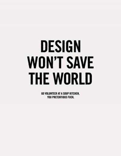Verantwortung warum darum for Interior designs slogans