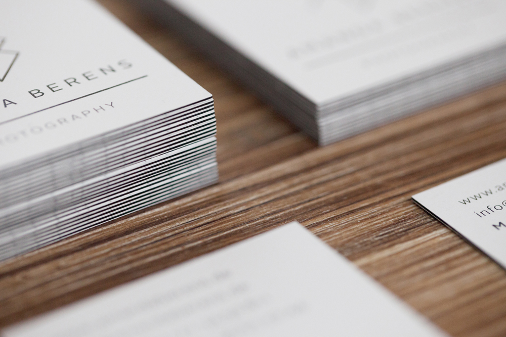 Amanda berens photography corporate design for Praktikum grafikdesign frankfurt