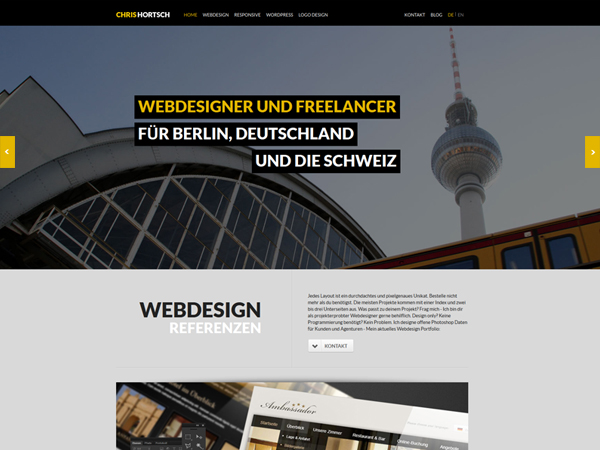 webdesigner berlin chris hortsch webdesign logo und wordpress programmierung freelancer. Black Bedroom Furniture Sets. Home Design Ideas