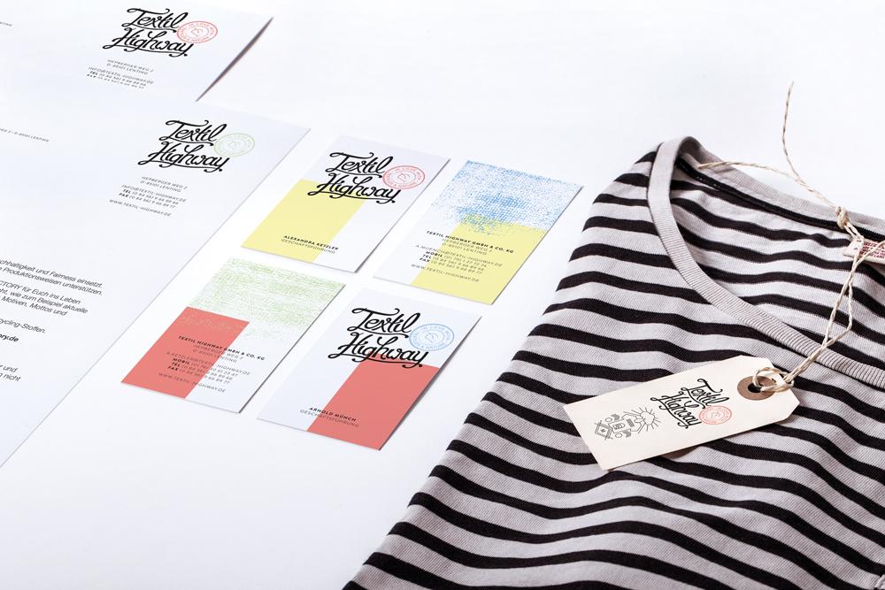 textil highway branding katalog web design. Black Bedroom Furniture Sets. Home Design Ideas