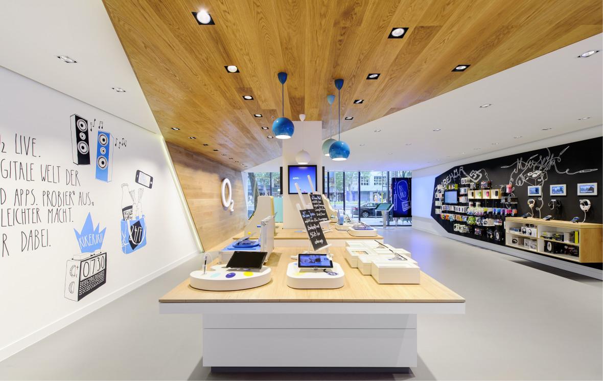 o2 flagship store live. Black Bedroom Furniture Sets. Home Design Ideas
