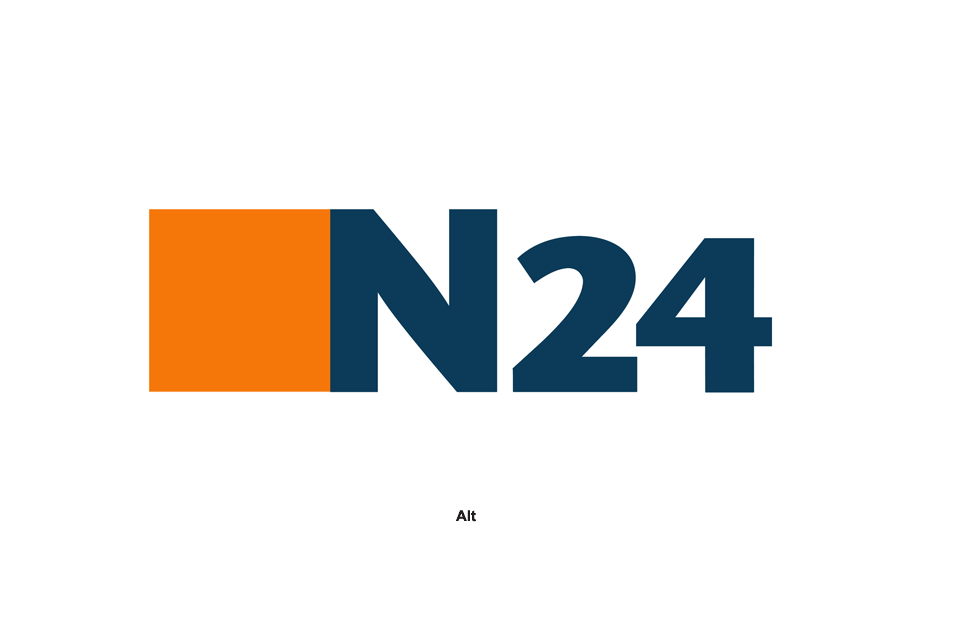 n24 logo redesign. Black Bedroom Furniture Sets. Home Design Ideas