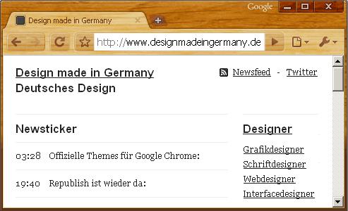 Google Chrome Themes Gallery