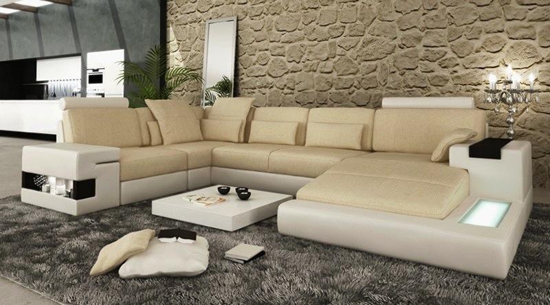 Wohnzimmer sofa stellen