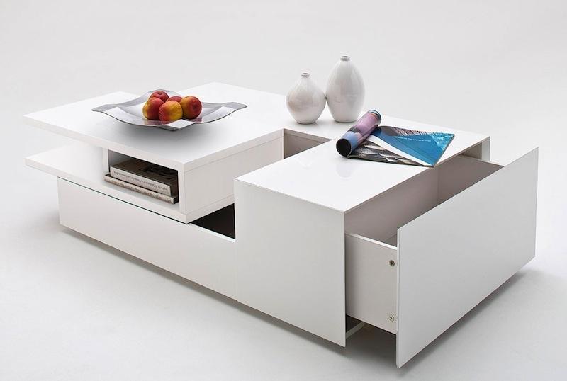 futuristische couchtische von delife. Black Bedroom Furniture Sets. Home Design Ideas