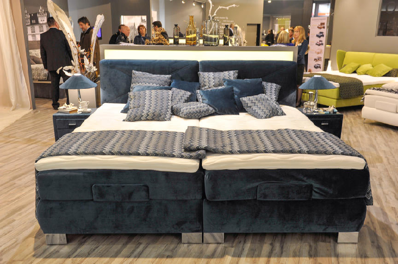 imm cologne boxspringbetten in h lle und f lle. Black Bedroom Furniture Sets. Home Design Ideas