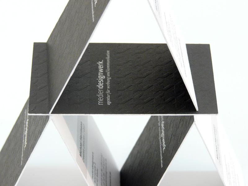 Look Alike Letterpress Visitenkarten Werbeagentur