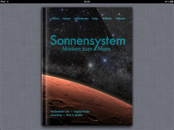 iBook – Sonnensystem, Mission zum Mars (1)