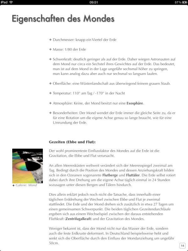 iBook – Sonnensystem, Mission zum Mars (6)