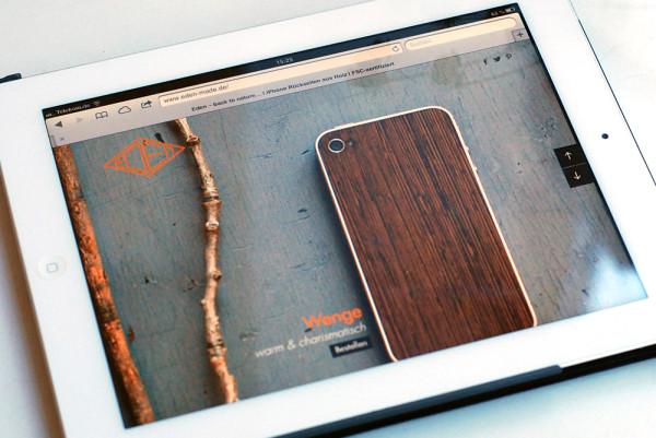 Eden – Holz fürs iPhone (8)
