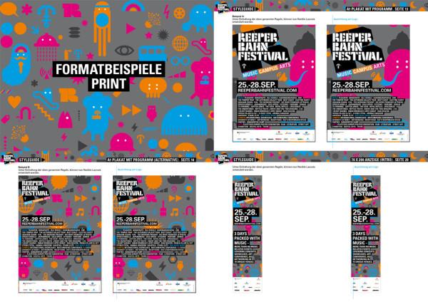 Reeperbahn Festival. Corporate Design 2013. (2)