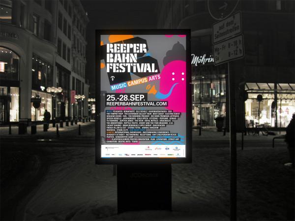 Reeperbahn Festival. Corporate Design 2013. (4)