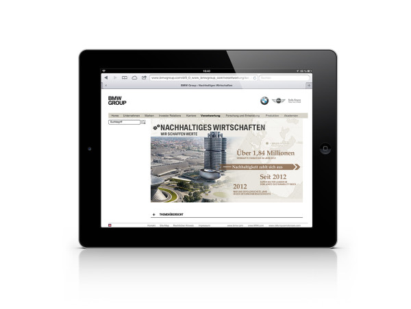 BMW Group Sustainable Values Report 2012 (13)