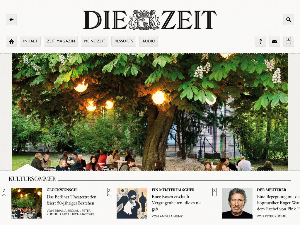 Zeit App. Interview mit Artundweise