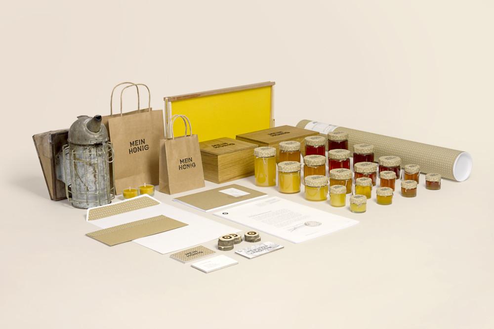 Mein Honig – Brand Identity (1)