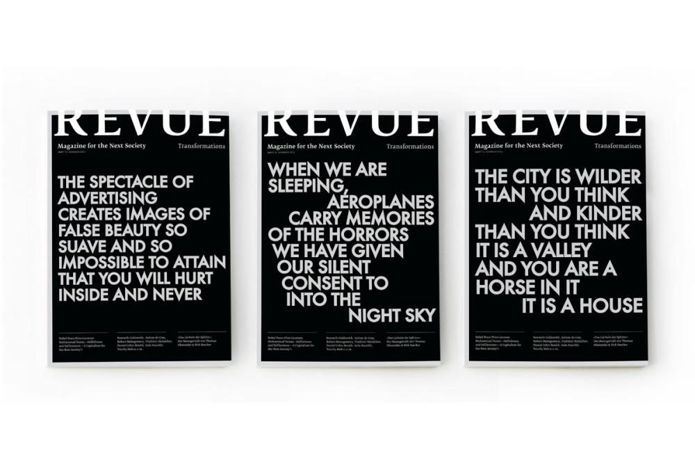 Revue 13 – Transformations (1)