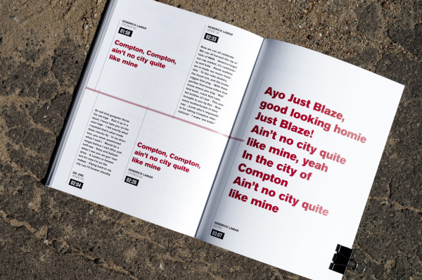 Kendrick Lamar – good kid, m.A.A.d city – typografisch inszeniert (13)