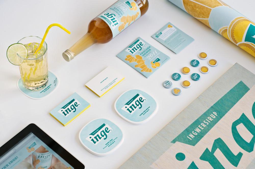 Brand Design und Packaging für Inge Ingwersirup (1)