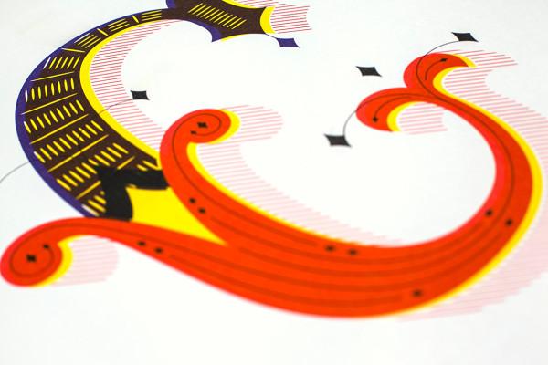 Lettering »VS« Calligraphy (8)