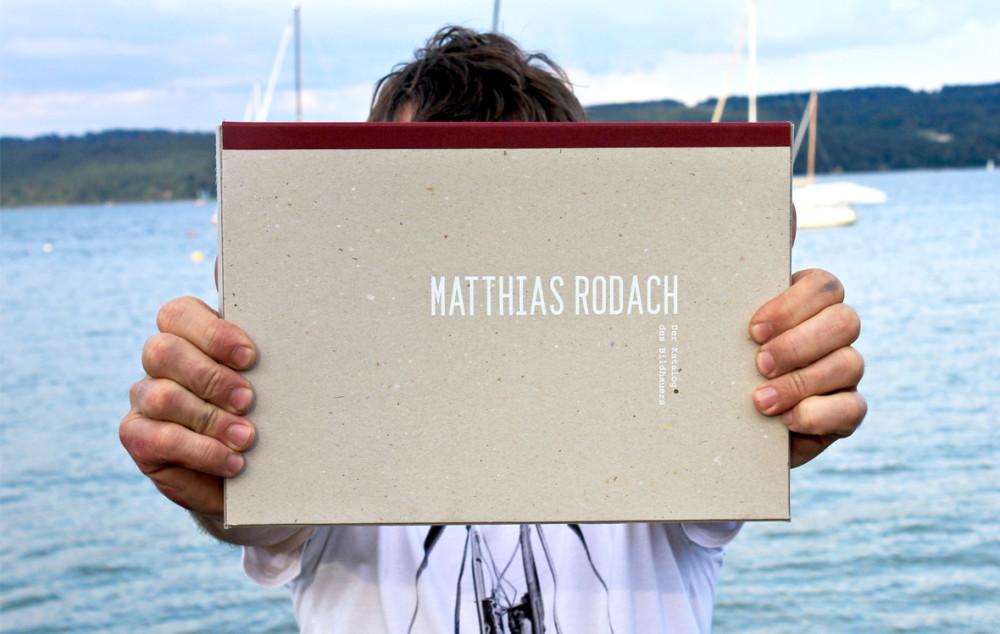Ausstellungskatalog, Bildhauer, Matthias Rodach (1)
