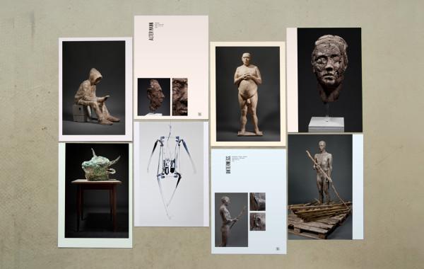 Ausstellungskatalog, Bildhauer, Matthias Rodach (4)