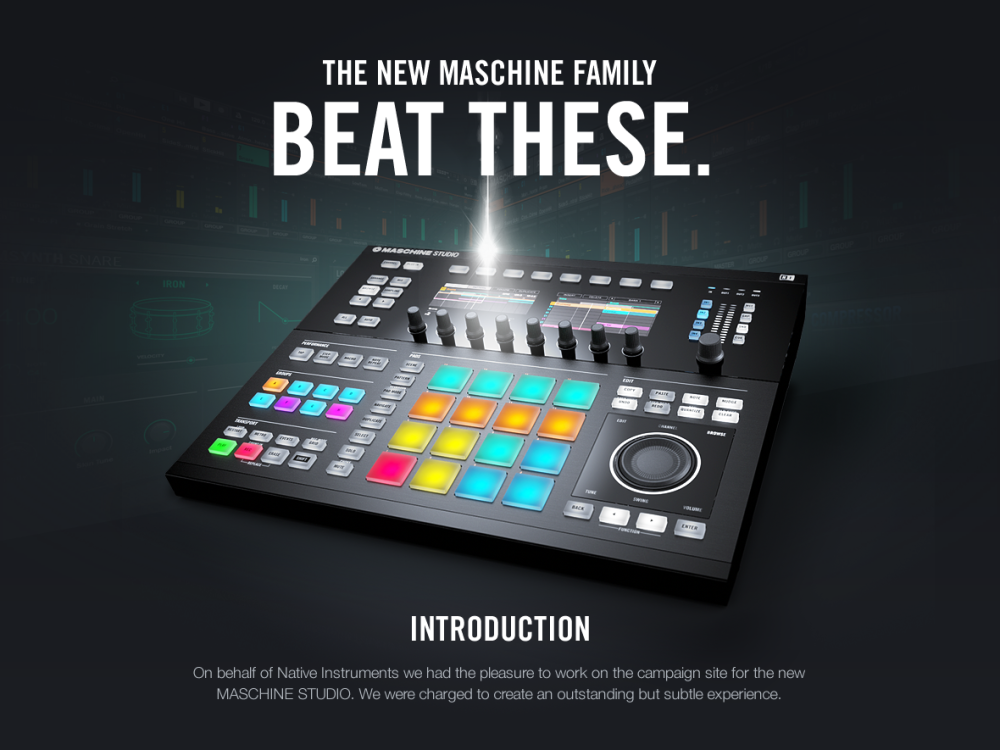 Beat these – The New Maschine Family (1)