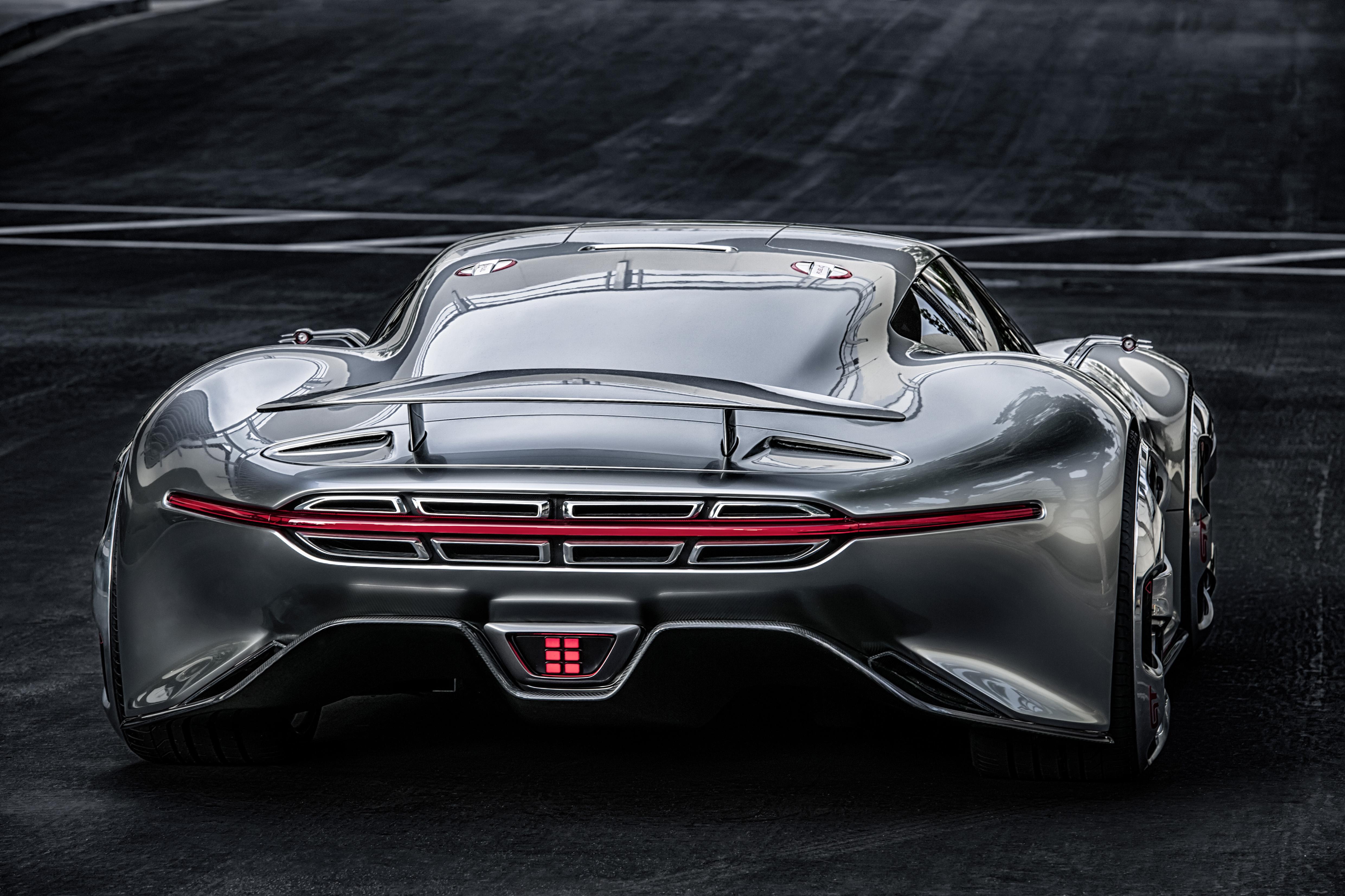 Visionärer Supersportwagen – Mercedes-Benz AMG Vision Gran Turismo