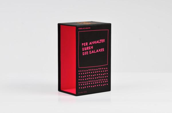 Per Anhalter durch die Galaxis / Buchcover + Schuber (4)