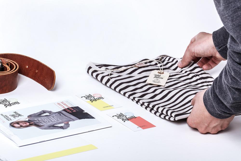 Textil Highway – Branding, Katalog & Web Design