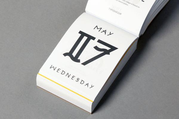 Typodarium 2015 –  The Daily Dose of Typography (10)