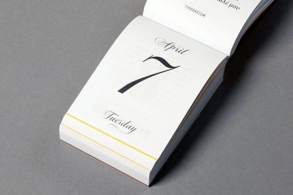 Typodarium 2015 –  The Daily Dose of Typography (6)