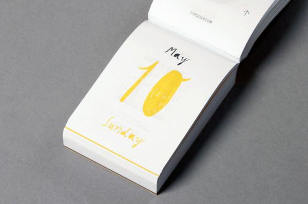 Typodarium 2015 –  The Daily Dose of Typography (9)