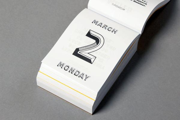 Typodarium 2015 –  The Daily Dose of Typography (4)