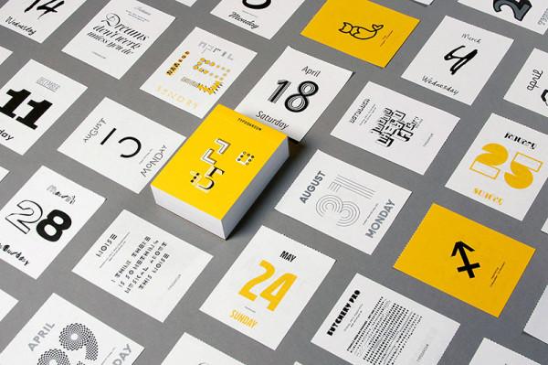 Typodarium 2015 –  The Daily Dose of Typography (2)