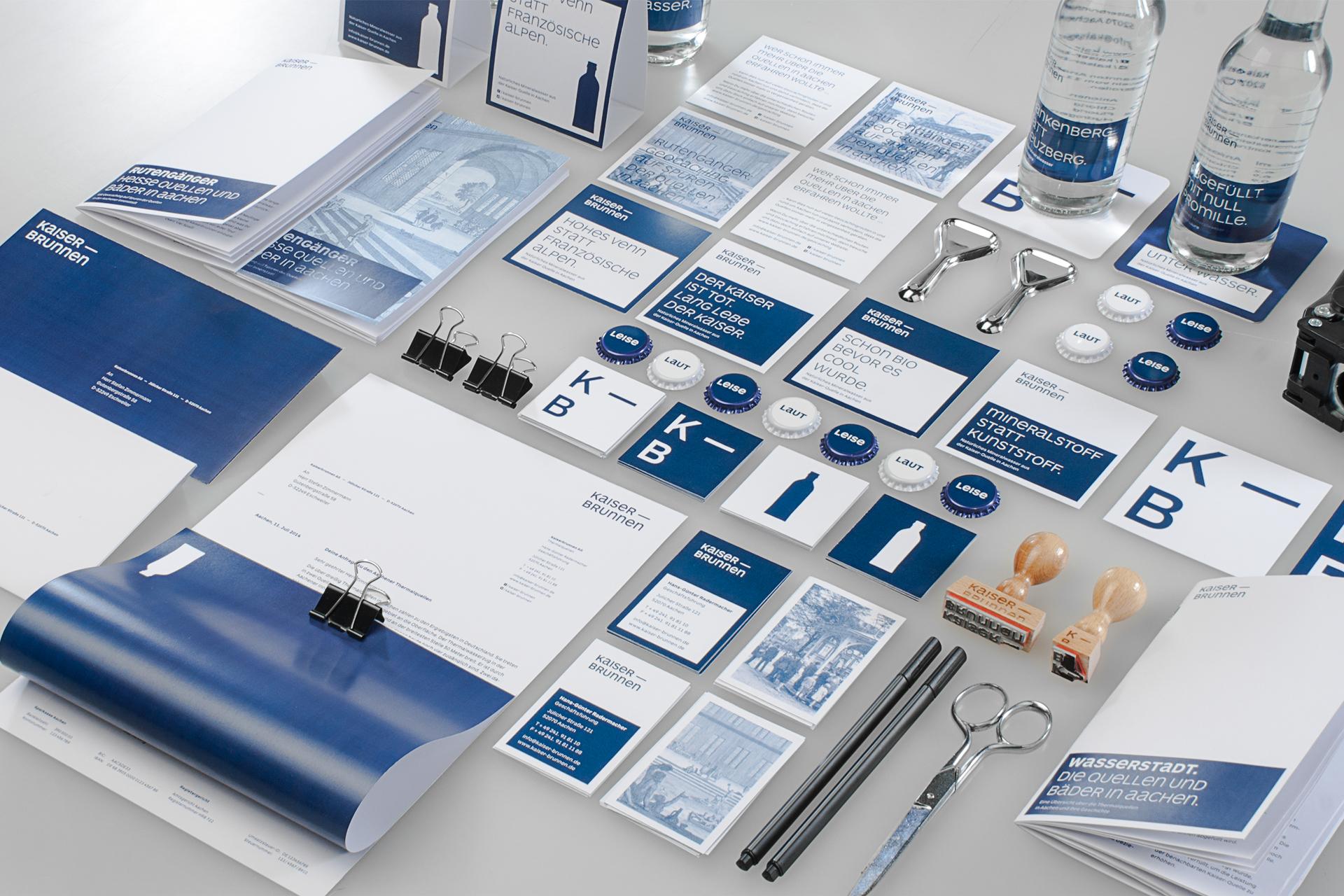 Wasserzeichen – Kommunikations- und Produktdesign für den Aachener Kaiserbrunnen