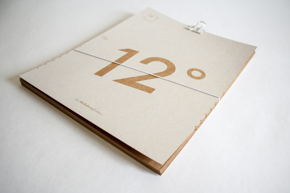 12° Der 10 Jahres Kalender (1)