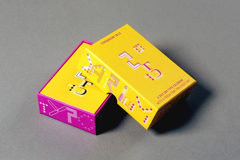 Typodarium 2015 –  The Daily Dose of Typography (1)