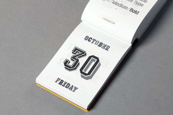 Typodarium 2015 –  The Daily Dose of Typography (18)