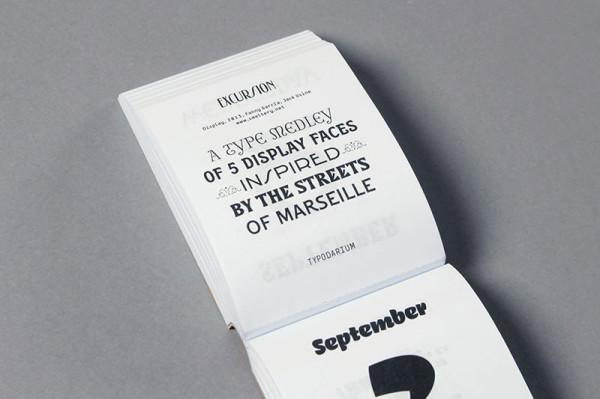 Typodarium 2015 –  The Daily Dose of Typography (15)