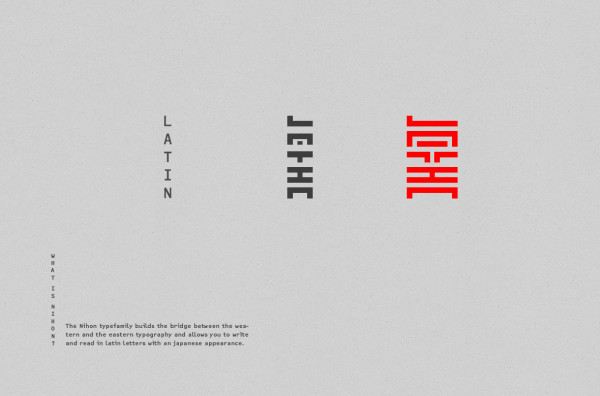 Nihon Typeface (2)