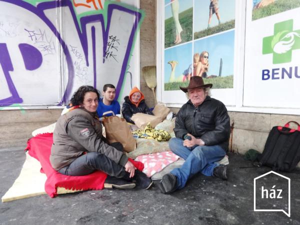 Ház – Obdachlosen Hilfsprojekt, Budapest (9)