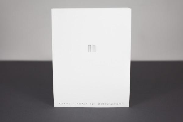 Neuwerk – Magazin für Designwissenschaft Nr. 4 Themenschwerpunkt: Stille (8)