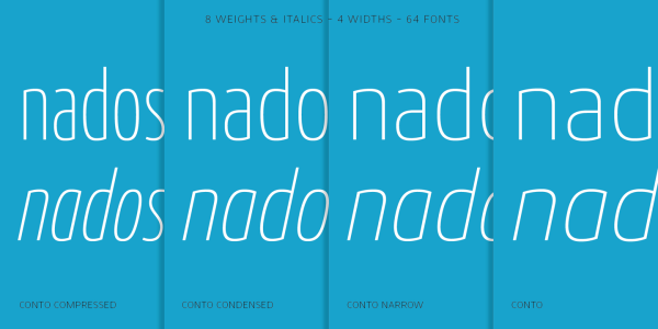 Conto Super Family – 64 Fonts (6)