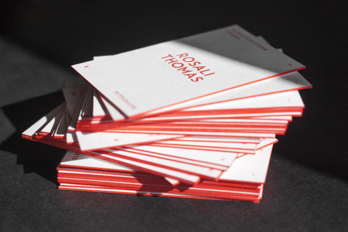 rosali thomas letterpress visitenkarten. Black Bedroom Furniture Sets. Home Design Ideas