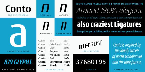 Conto Super Family – 64 Fonts (5)