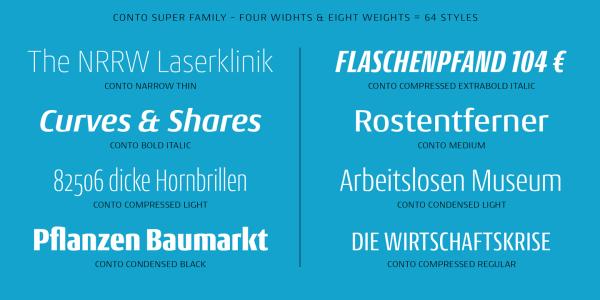 Conto Super Family – 64 Fonts (3)