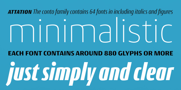 Conto Super Family – 64 Fonts (2)